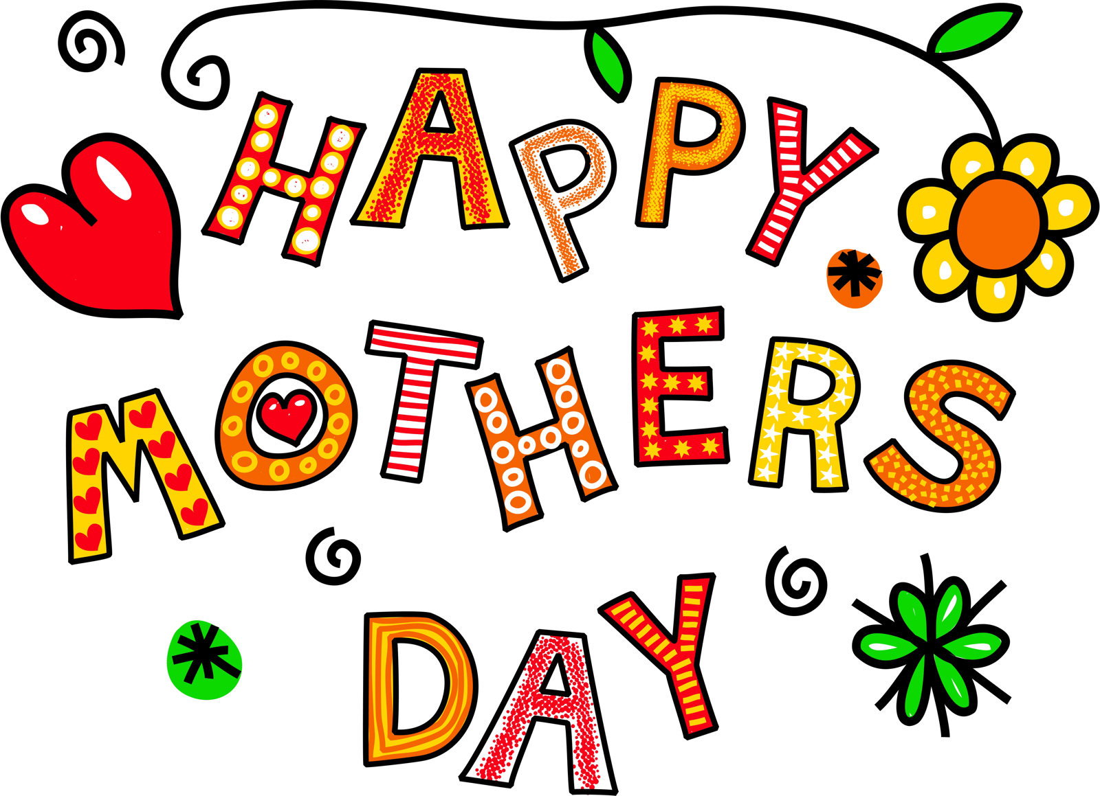 Free stock photo 10312 word art happy mothers day freeimageslive phappy mothers day hand drawn cartoon text greeting kristyandbryce Choice Image