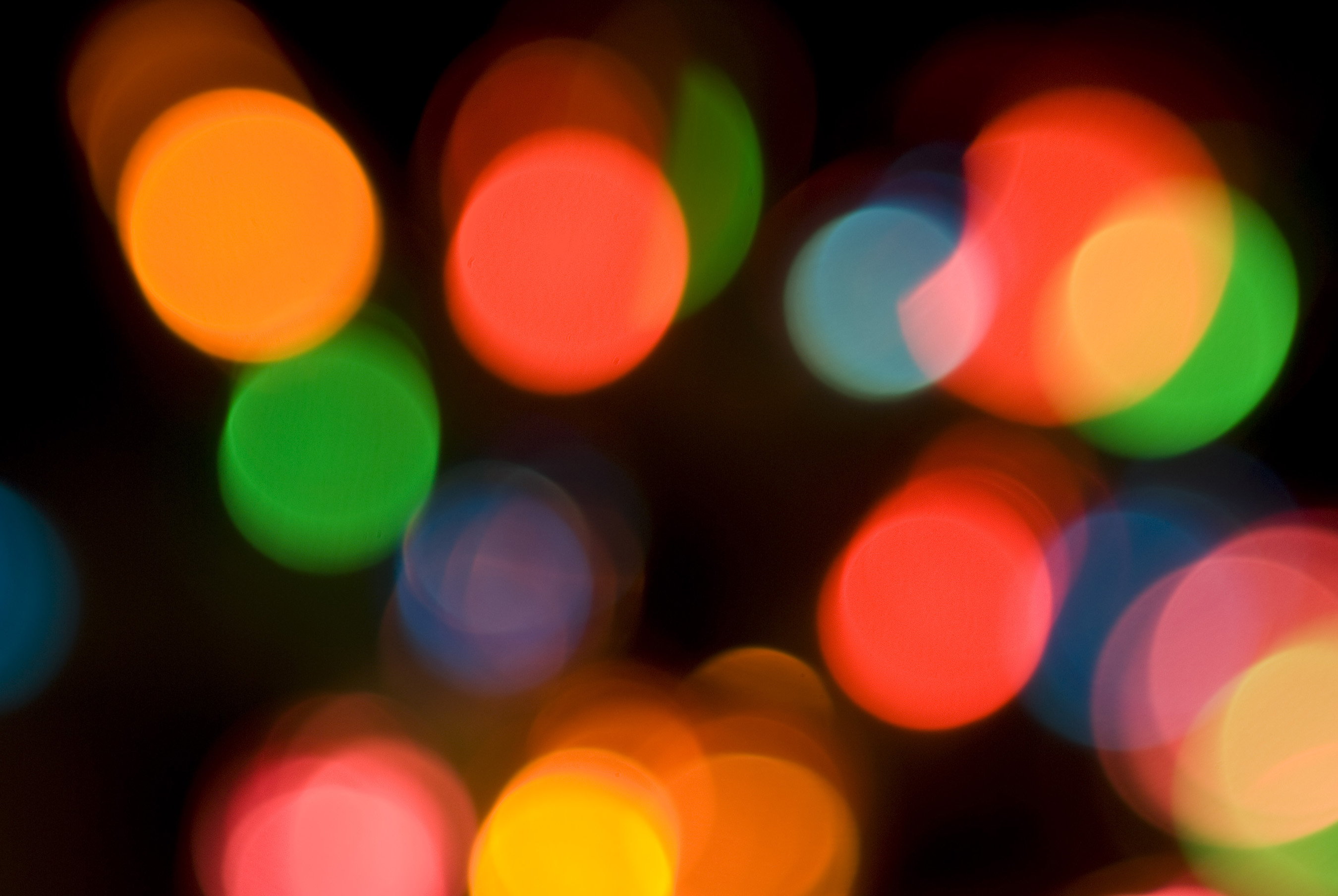 colourful bokeh light effect created in camera & Free Stock Photo 1866-boke lights | freeimageslive azcodes.com