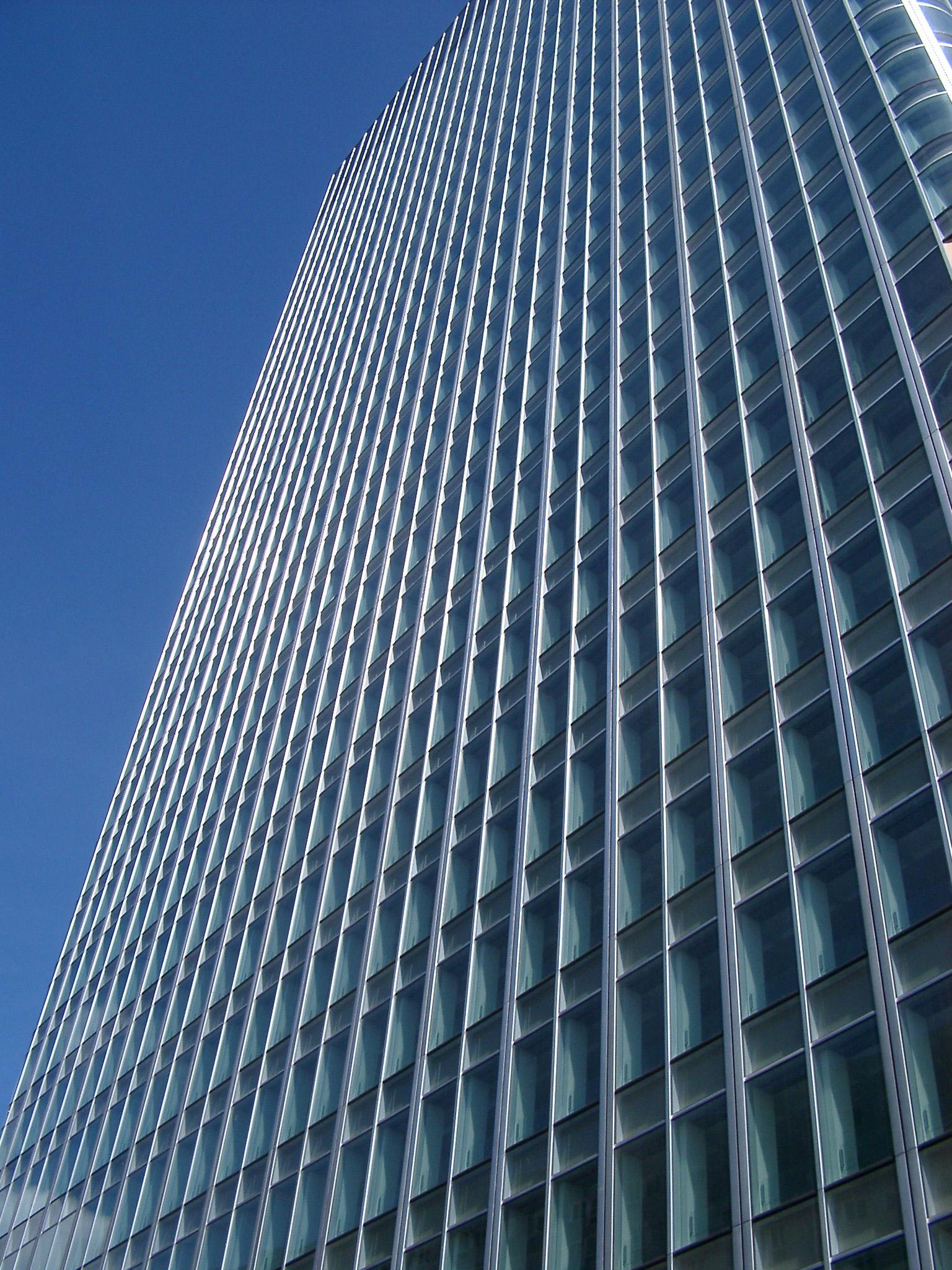glass exterior modern office. Exterior Of A Modern Glass Office Building O