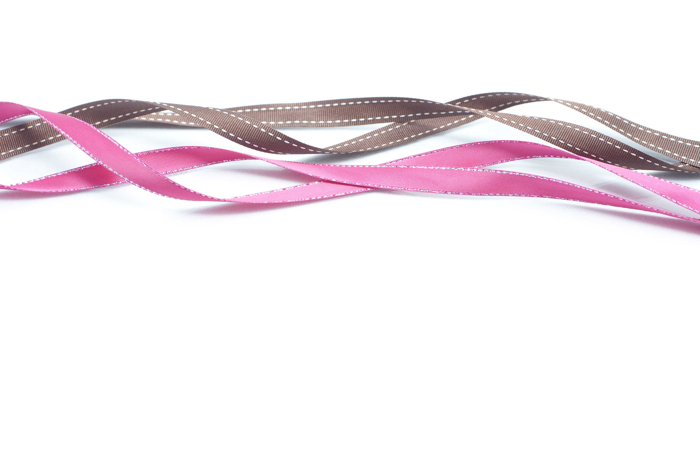 Cool white background - Ribbon Background