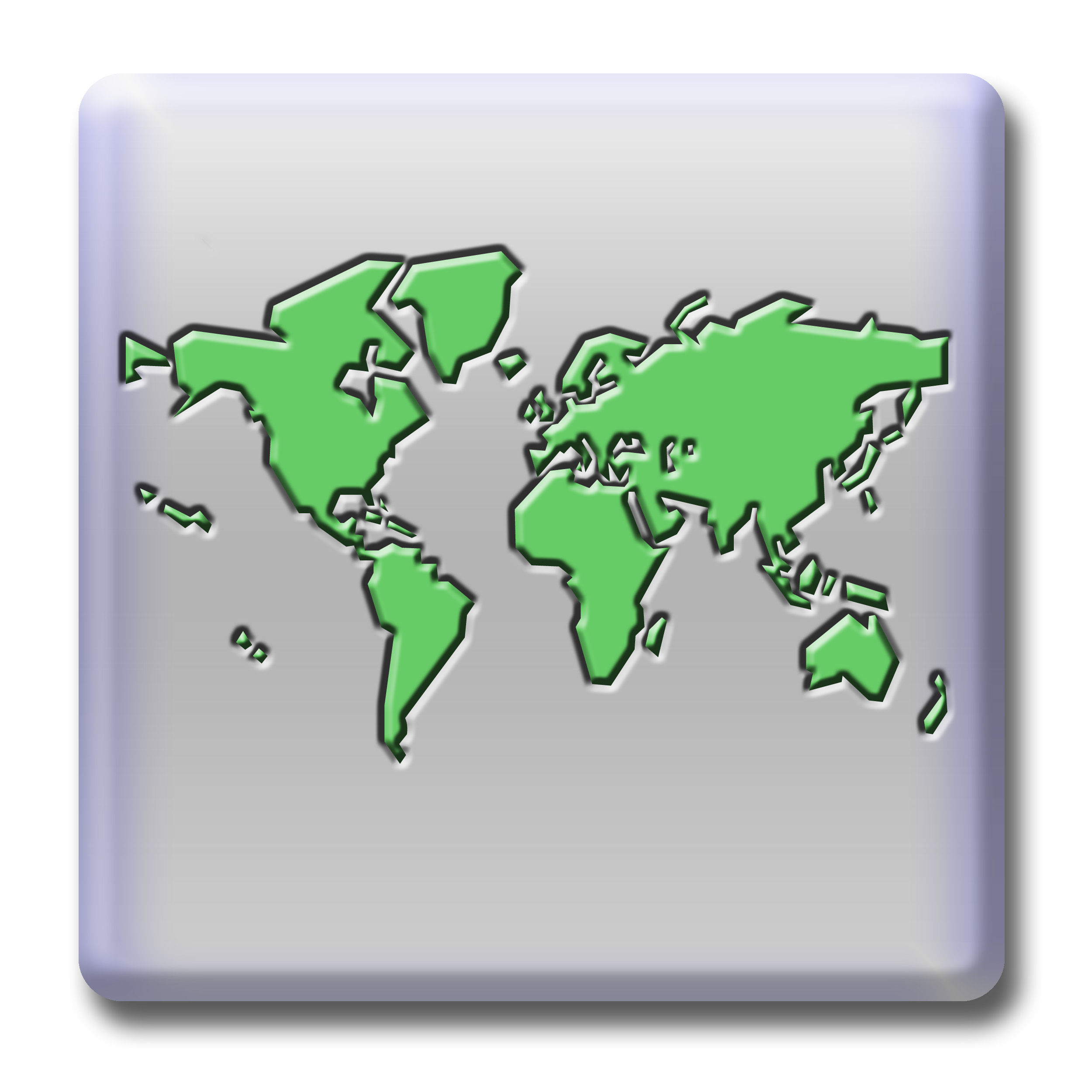 Free stock photo 506 worldmapg freeimageslive a grey button featuring a world map gumiabroncs Choice Image