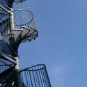 245   spiral stairs