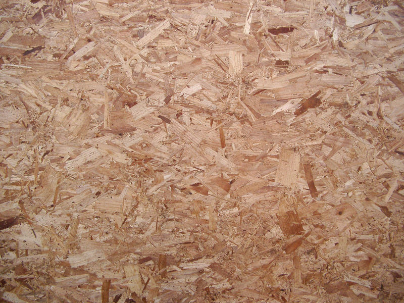texture of wood firbe chip board building material