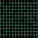 1463-green square grid