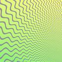 1613-green opart waves