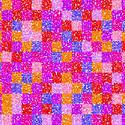 1558-floral grid squares