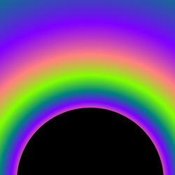 1660   rainbow spectrum