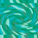 1487-green twist