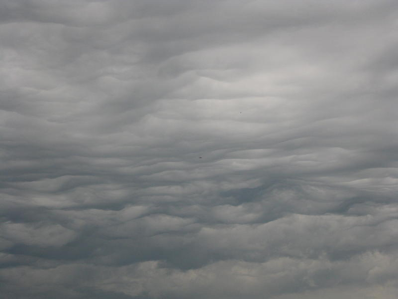 <p>this was a&nbsp;scary cloud formation.&nbsp; They had predicted fornadoes and I&nbsp;thought for sure this was it.&nbsp; Thank God, it wasn't.</p>