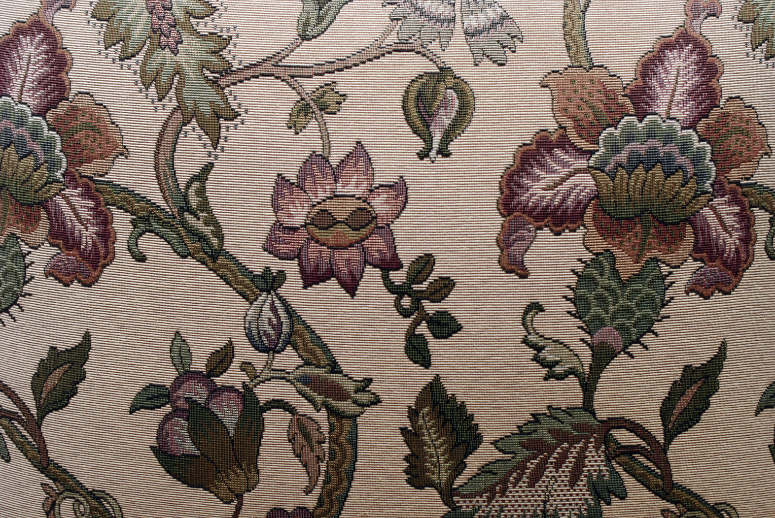 Free Stock Photo 1891-Floral fabric background texture ...