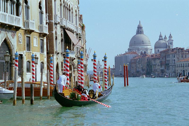 <p>View up the Grand Canal in Venice</p>