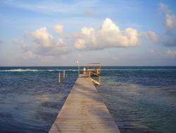 1803-Caribbean jetty