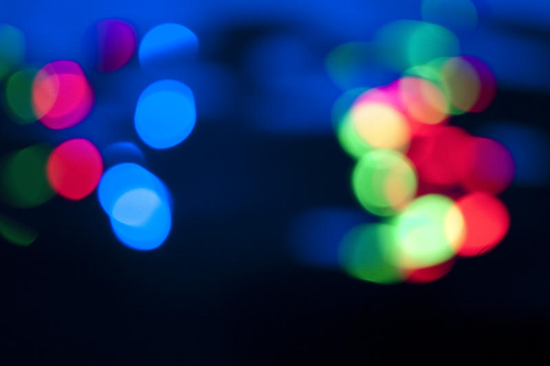 colorful defocused lights
