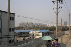 2492-beijing birdsnest before the olympics