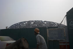 2494-birdsnest stadium under construction