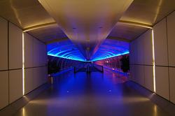 2173-blue neon walkway