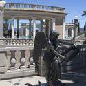 2546-Hearst Castle Roman Style Statues