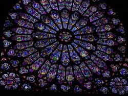 3713   Notre Dame Stained Glass Window.JPG