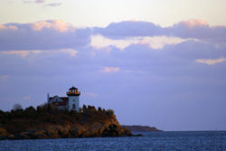 3669-Sunset Lighthouse