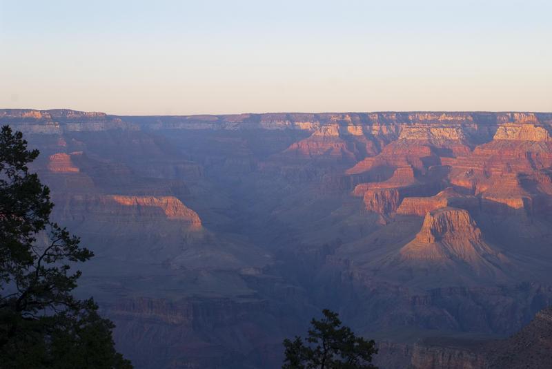 3137-Canyon sunset