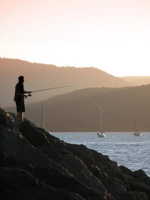 3370   sunset fishing