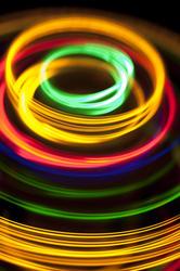 3552   glowing light rings