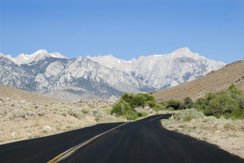 road trip to mount whitney, Sierra Crest