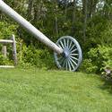 4169-Old Windmill Wheel