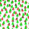 3632-red and green tree shapes
