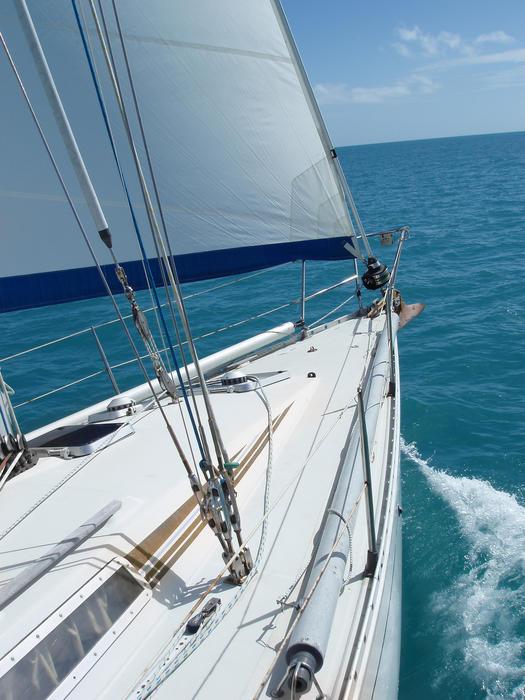 4375   making sail