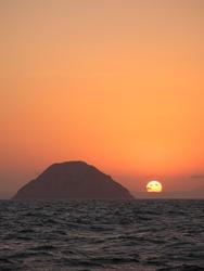 3302-setting sun