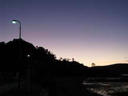 3396-twilight silhouette