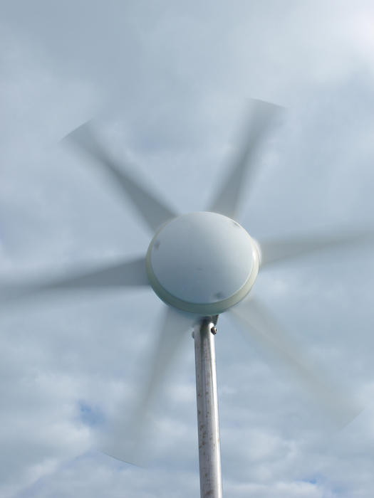 eco power - a small wind powered generator