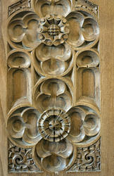 4570   carved wood panel