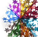 4696   colourful christmas star