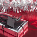 4697   christmas wrapped gift