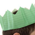 4702   green party hat