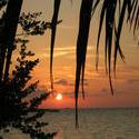 4442   maldives setting sun