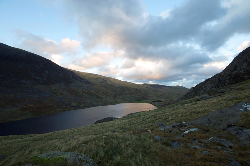 Llyn Ogwen, in the Snowdonia National Park, Wales
