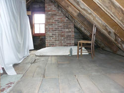 6684   Interior of an attic