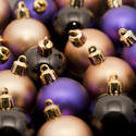 6798   Christmas bauble background