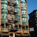 6637   Decorative bay windows in Boston