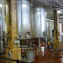 6694   Large metal brewery vats