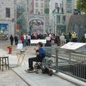 6707   Busker in Quebec City