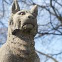 7584   Lynx on the Cardiff Castle Animal Wall