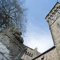 7560   Cardiff Castle Animal Wall