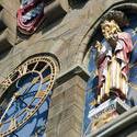 7588   Cardiff Castle clock