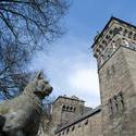 7565   Castle clock tower