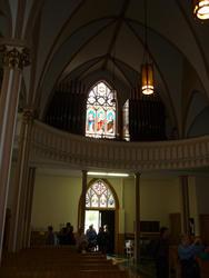 6711   Church interior with congregation