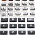 5295   Keypad of complex scientific calculator